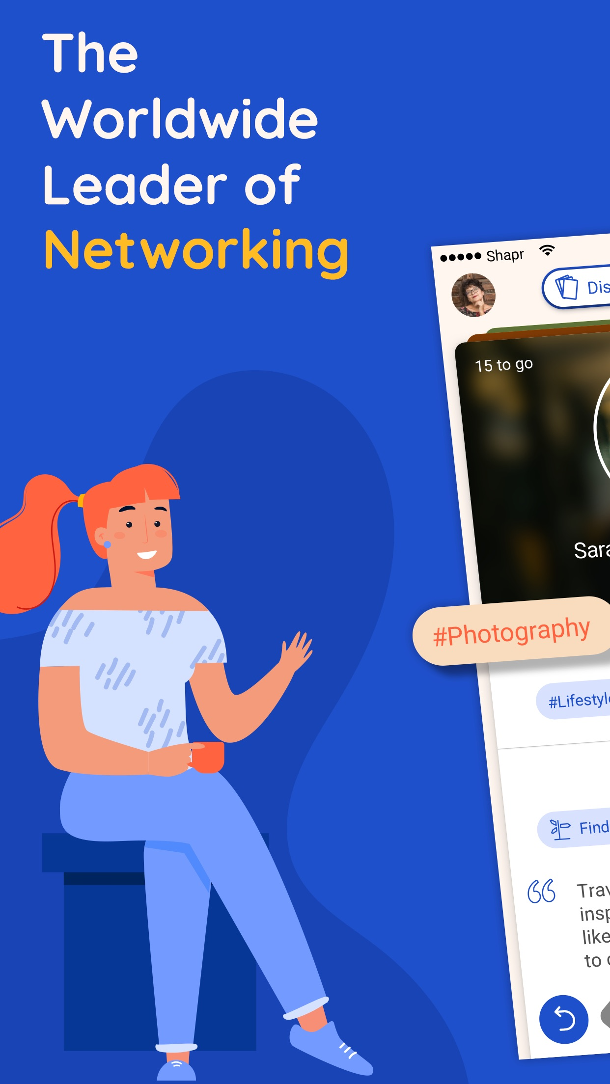 Shapr - Business Networking Screenshot