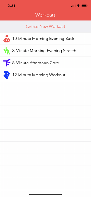 ‎Workout Playlist Pro Screenshot