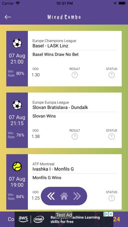 Betting Tips Predictor screenshot-8