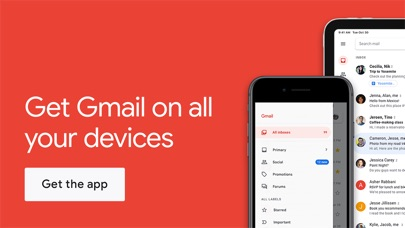 Screenshot for Gmail - Email by Google in Estonia App Store
