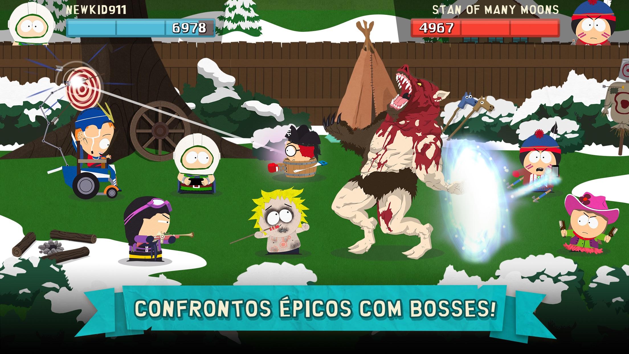 Screenshot do app South Park: Phone Destroyer™