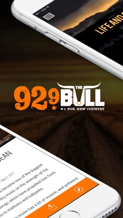 92.9 The Bull Radio (KDBL) screenshot two
