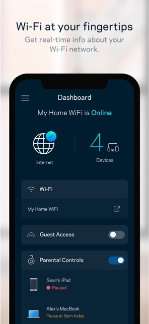 Linksys on the App Store