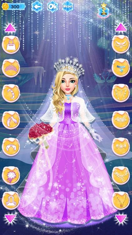 Ice Princess Dress Up Designer screenshot-4