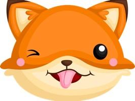 Cute Fox Sticker Collection