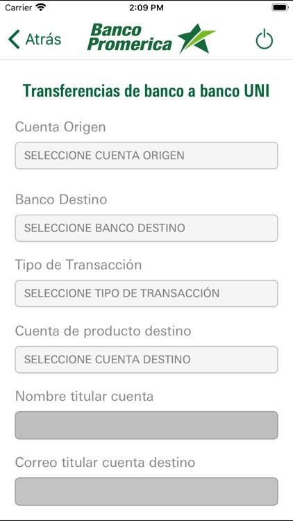Promerica Banca Móvil screenshot-4