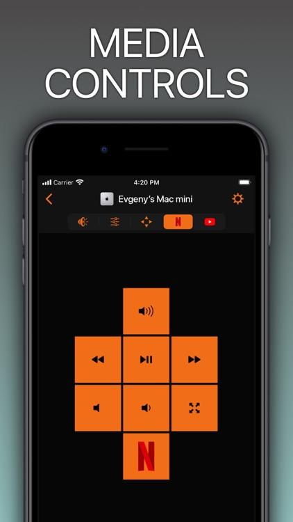 Remote Control for Mac / PC screenshot-0