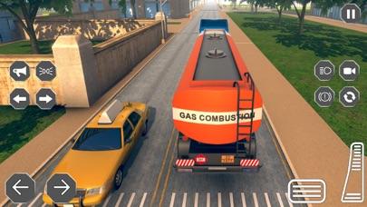 3Dを運転する石油輸送トラック - 燃料配達トラックシムのおすすめ画像2