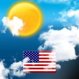 Météo pour les USA