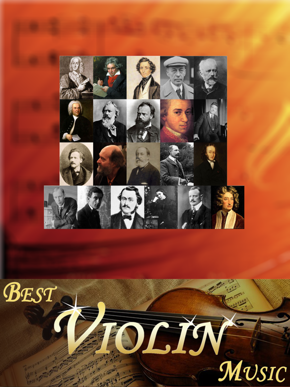 Violin music master collection free version HD - cool magic player screenshot