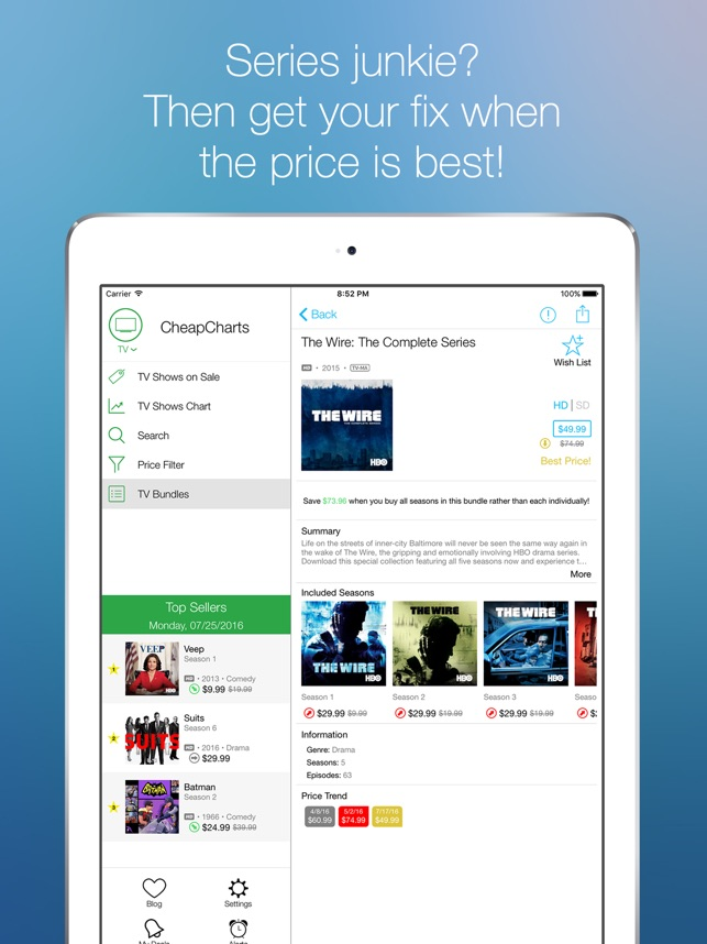 CheapCharts: All iTunes Deals Screenshot