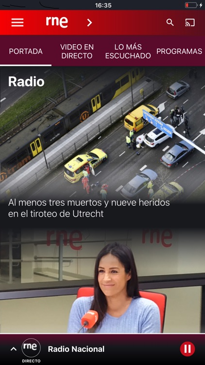 Radio Nacional de España screenshot-0