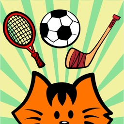 Kikimoji Sports - Cat Stickers