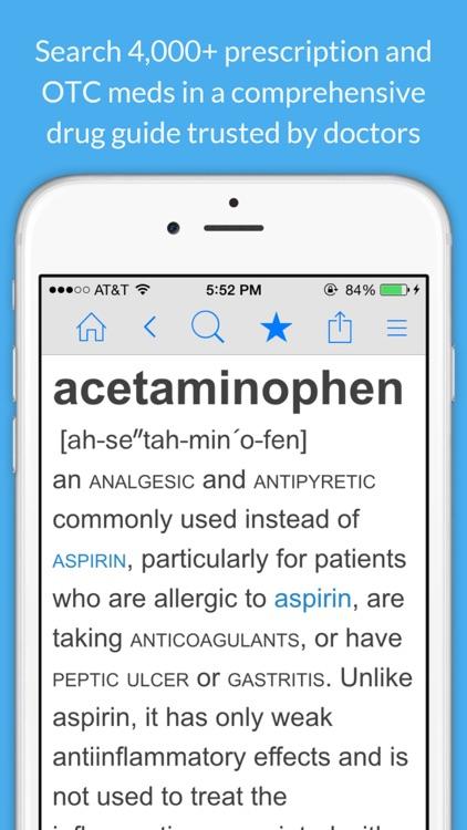 Medicine Dictionary screenshot-0