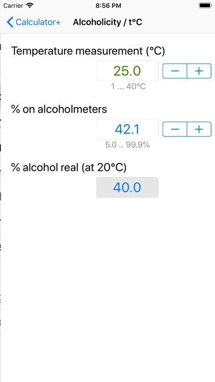 Alcohol Calculator + screenshot-6