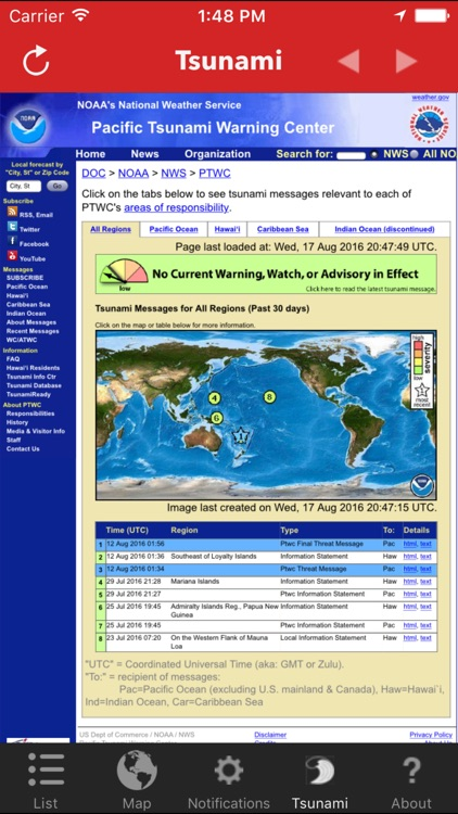 Earthquake Watch screenshot-4