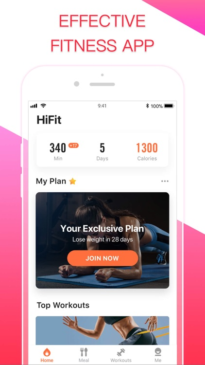 HiFit - Workout Fit Plan screenshot-0