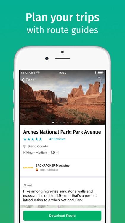ViewRanger: Hike, Ride or Walk screenshot-4