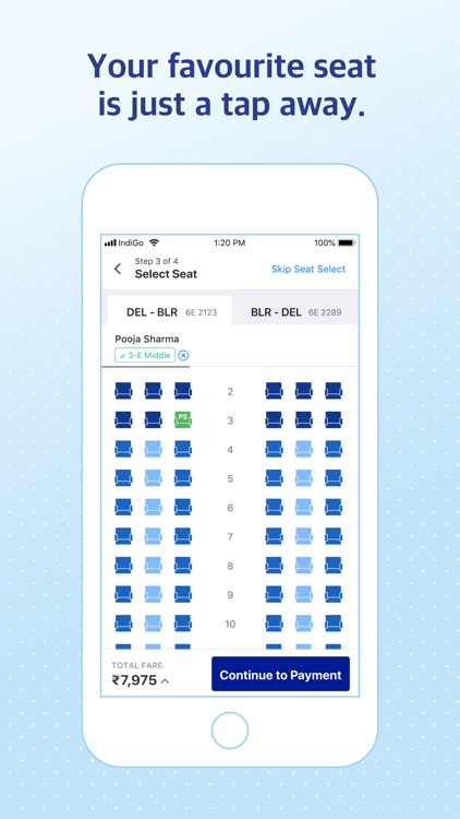 IndiGo | Flight Booking App screenshot-3
