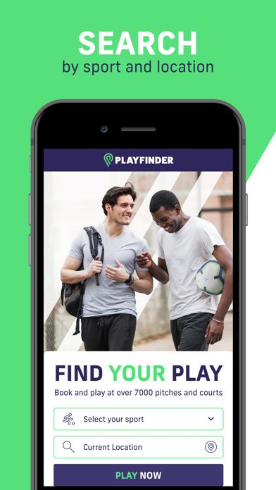 Playfinder (MyLocalPitch) screenshot one
