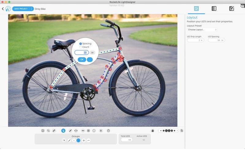 RocketLife LightDesigner Screenshot