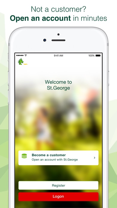 St.George Mobile Banking screenshot one