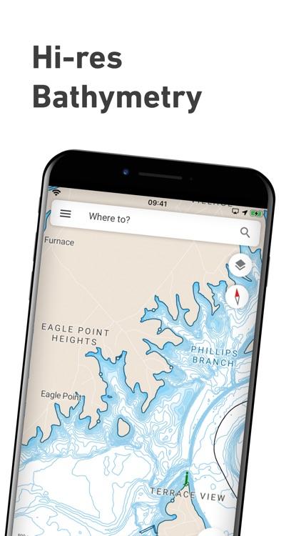Lowrance: Fishing & Navigation screenshot-3