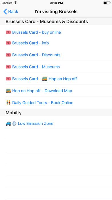 GoBrussels: Enjoy EU's CapitalCaptura de pantalla de5