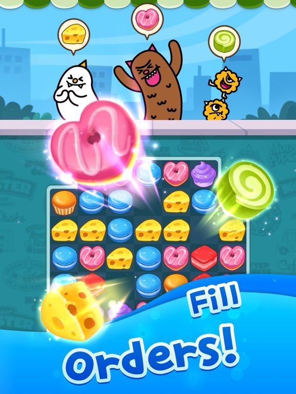 Match 3 Puzzle: SweetMonsterのおすすめ画像3