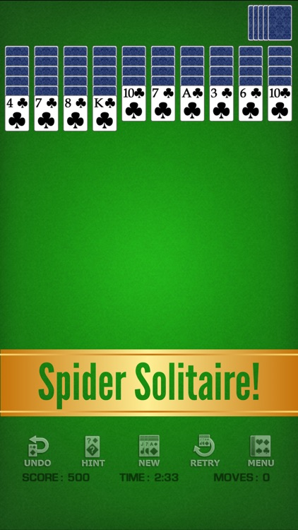 Spider Solitaire Classic ◆ screenshot-5