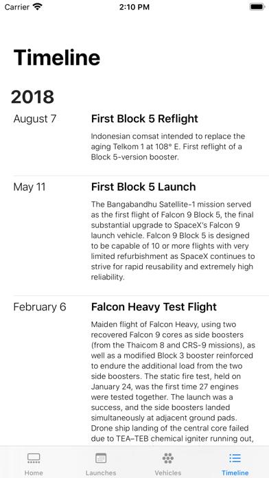 SpaceX Explorer screenshot 8