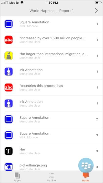 iAnnotate for BlackBerry screenshot-3