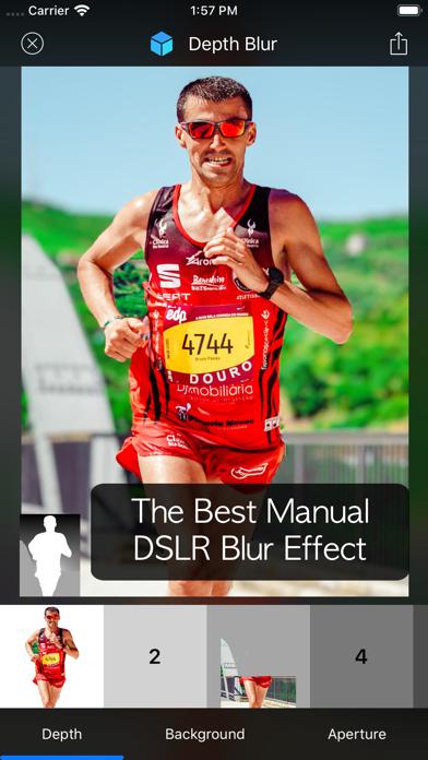 Depth Blur - Manual DSLRのスクリーンショット