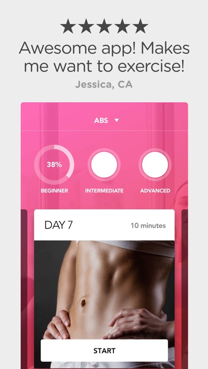 30 Day Squat And Abs Challenge screenshot-0