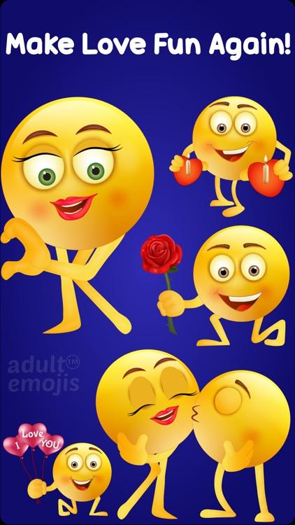 Adult Emoji Keyboard Stickers screenshot-3