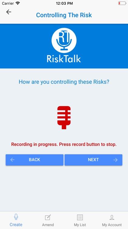 Risk Talk - Workplace Safety screenshot-6