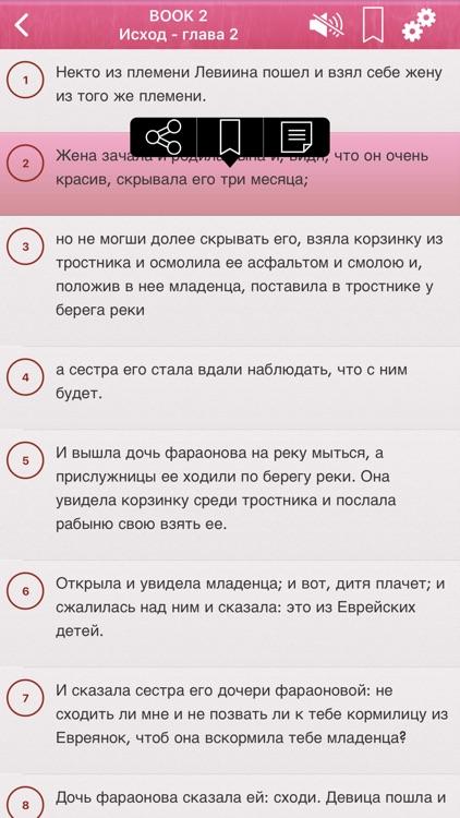 Russian Holy Bible Audio mp3 screenshot-4