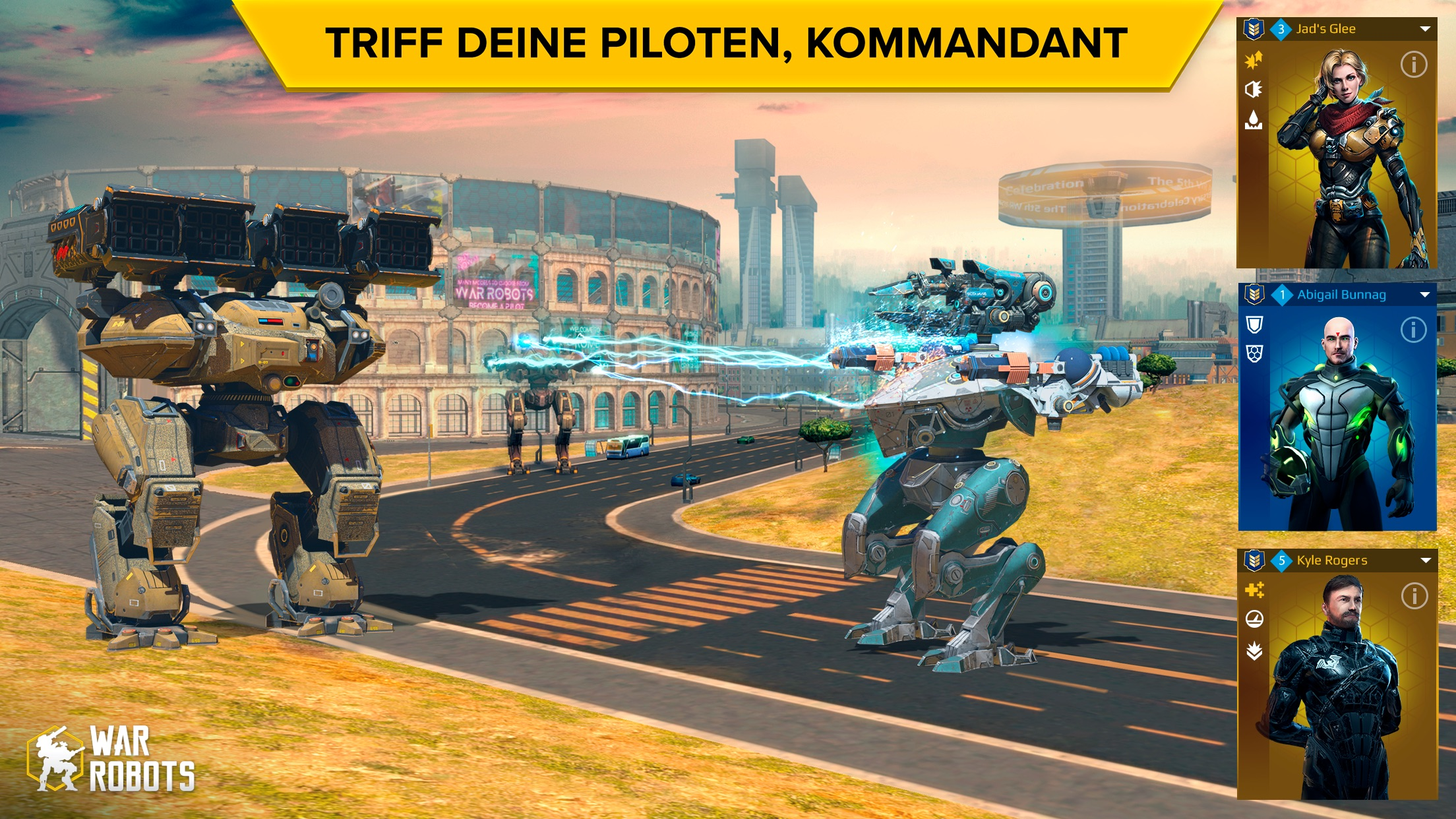War Robots. PvP Mehrspieler Screenshot