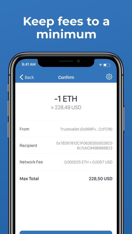 Trust: Crypto & Bitcoin Wallet screenshot-7