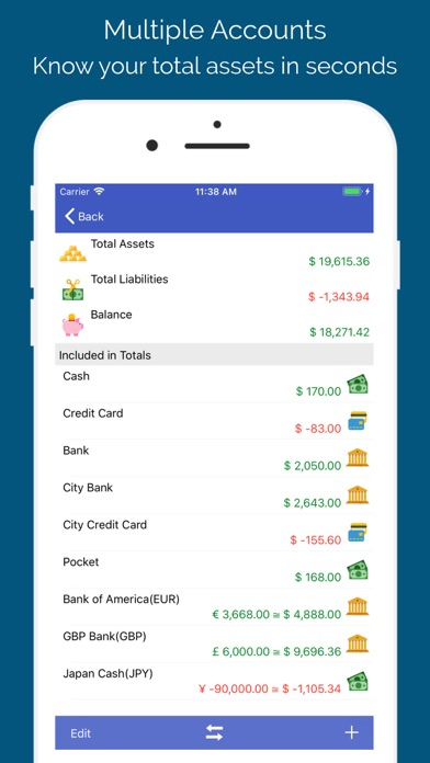 Screenshot for AndroMoney in Netherlands App Store
