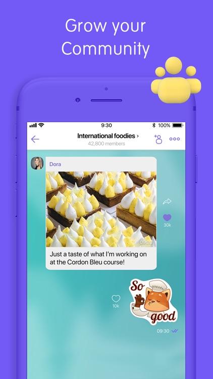 Viber Messenger: Chats & Calls screenshot-4