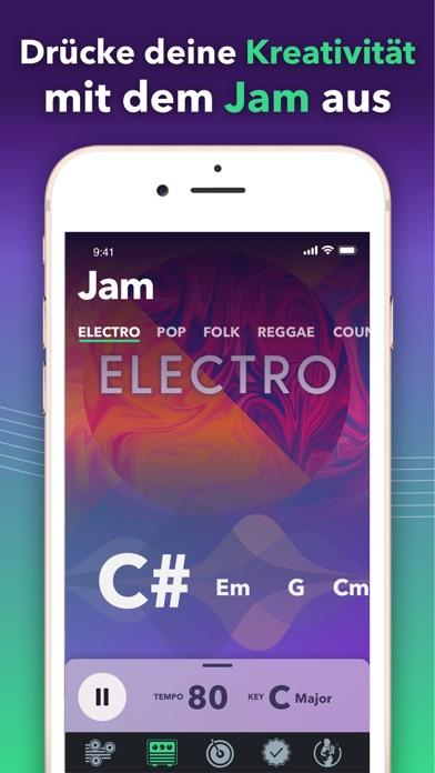 Screenshot for Gitarre Stimmen mit stimmgerät in Austria App Store