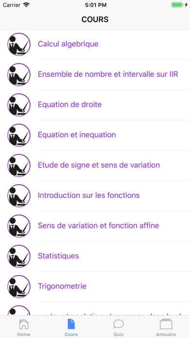 Maths Seconde ES screenshot 4