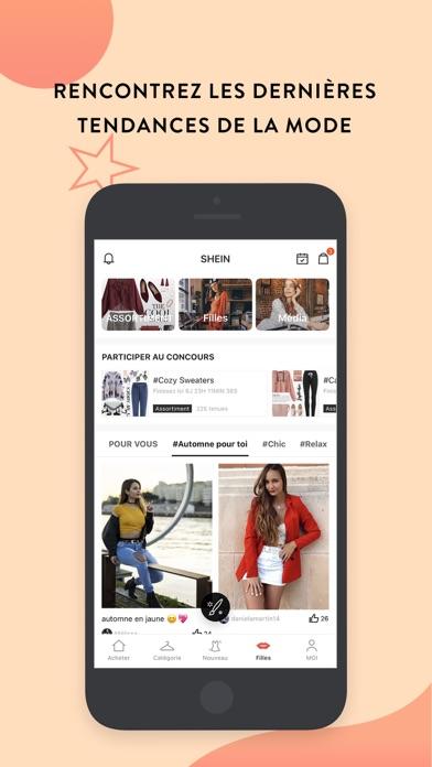 Screenshot for SHEIN-Vente Privee Mode Femme in Lebanon App Store