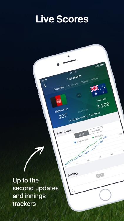 Cricket Live: The Ashes Stats screenshot-0