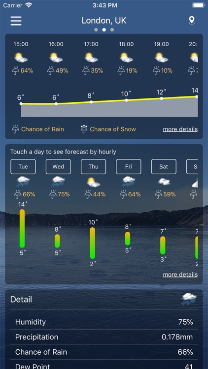 Weather : Weather forecast Pro