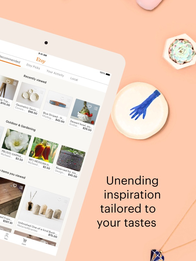 7dc49f44a  Etsy – Shop Creative on the App Store