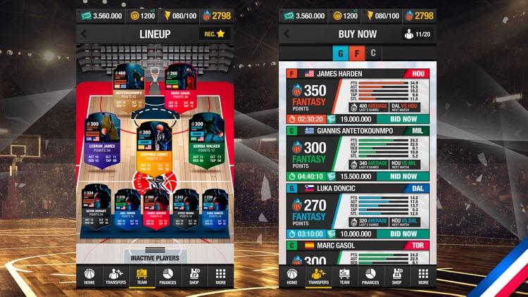 Basketball Fantasy Manager New screenshot-5