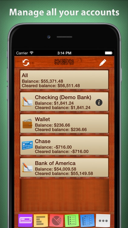 Checkbook HD: Personal finance
