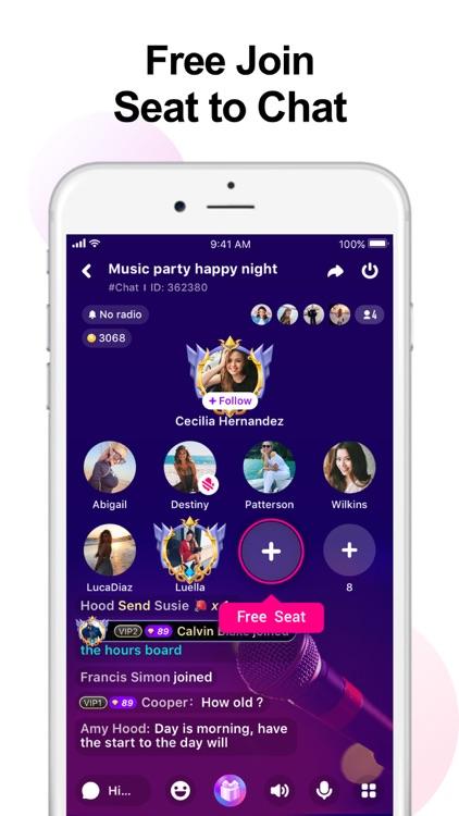 Waka - Group Voice Chat App screenshot-3